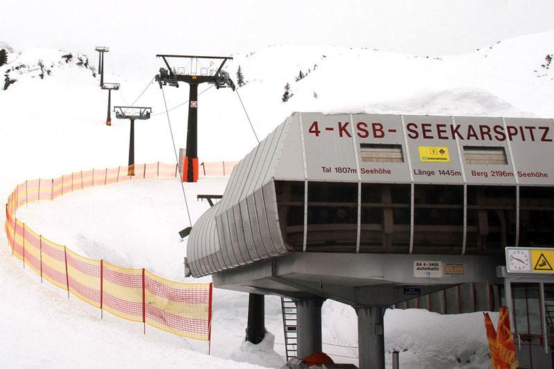 Seekarspitzbahn Sessellift im Skigebiet Obertauern