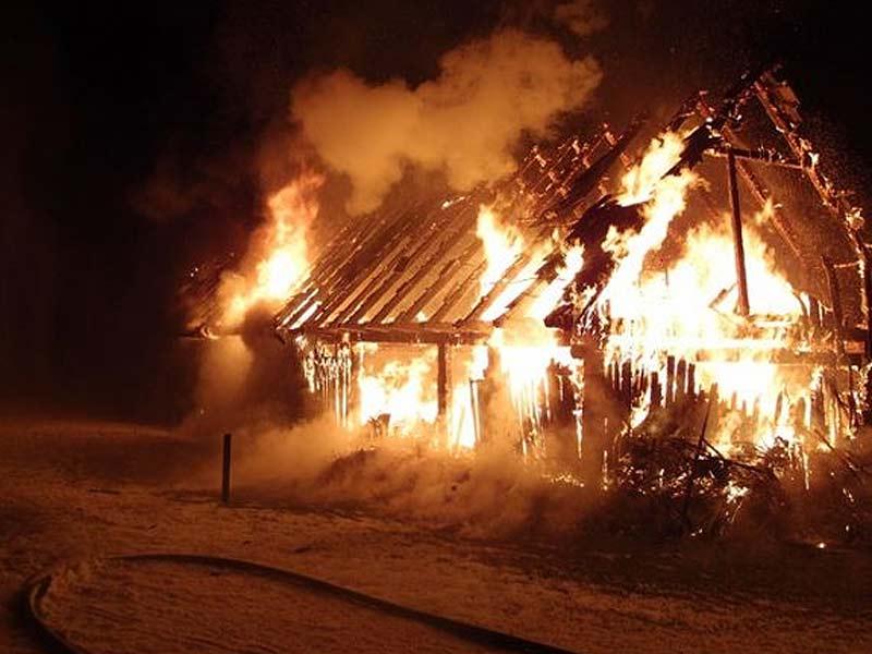 Brand, Wirtschaftsgebäude Wohlsdorf