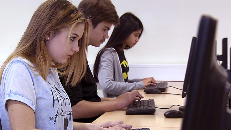 Informatik Computer Unterricht Schulen Unterstufe Pflichtfach Computerkids Netzgeneration