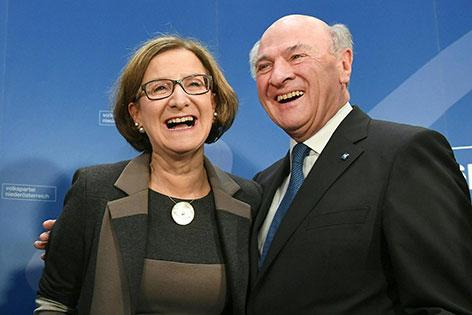 Johanna Mikl-Leitner Erwin Pröll Parteivorstand