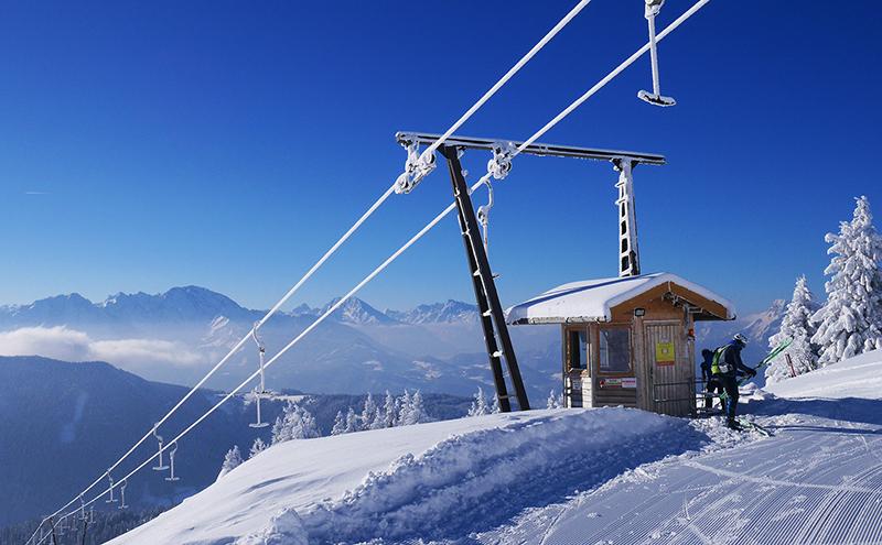 Gaißau Gaissau Hintersee Skischaukel Krispl Skifahren Winter Skifahren Skitourismus Wintertourismus Schnee