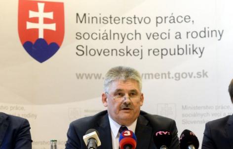 Ján Richter, Arbeitsministerium