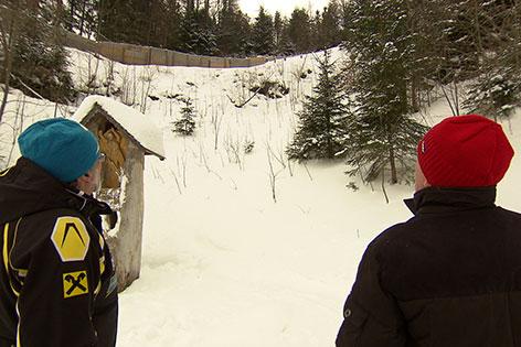 Skispringen Semmering