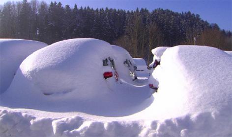 Salzburgring in Koppl als Autolager