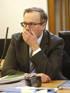Harald Dobernig Prozess Wahlkampfbroschüre