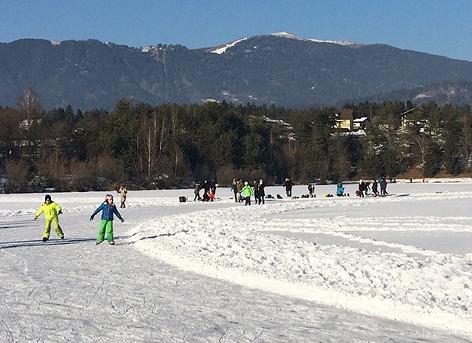 Silbersee Eislaufen