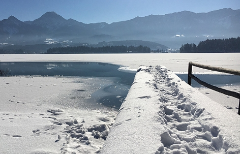 Faaker See Suchaktion Eisläufer