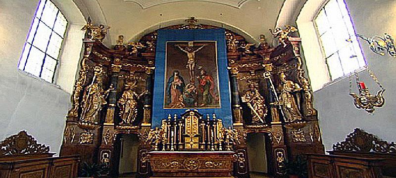 Fastentuch Pfarrkirche Schiedlberg