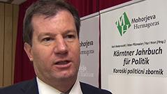 Zbornik politiko Hren Karl politolog Mohorjeva