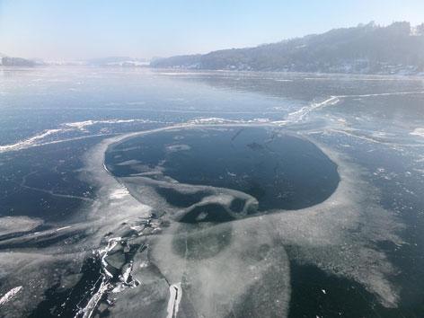 Eisflächen Mattsee
