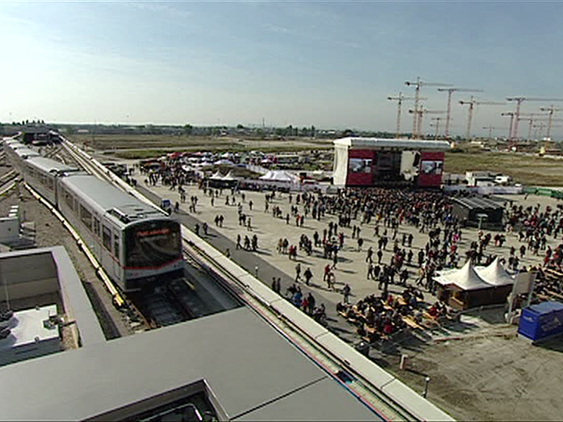 Wiener Linien Eröffnungsfeiern