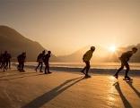 Eislaufen Weißensee befahrbar