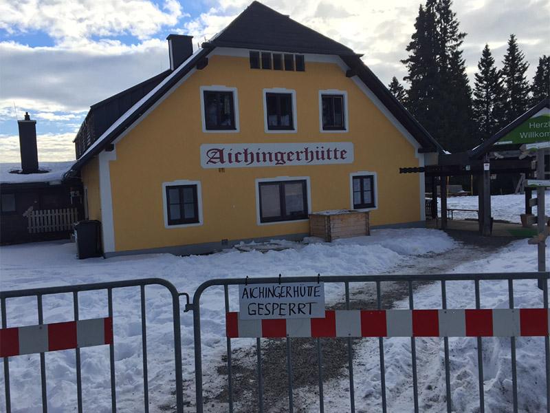 Aichingerhütte Kohlenmonoxid