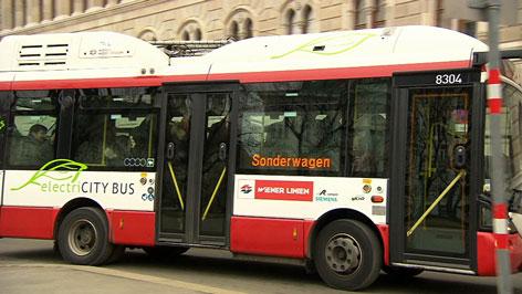 Elektrobus Wiener Linien