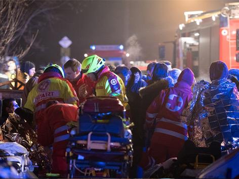 Partykeller evakuiert