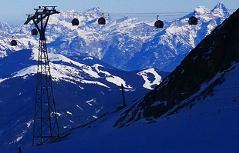Kitzsteinhorn Kaprun Gletscherskigebiet