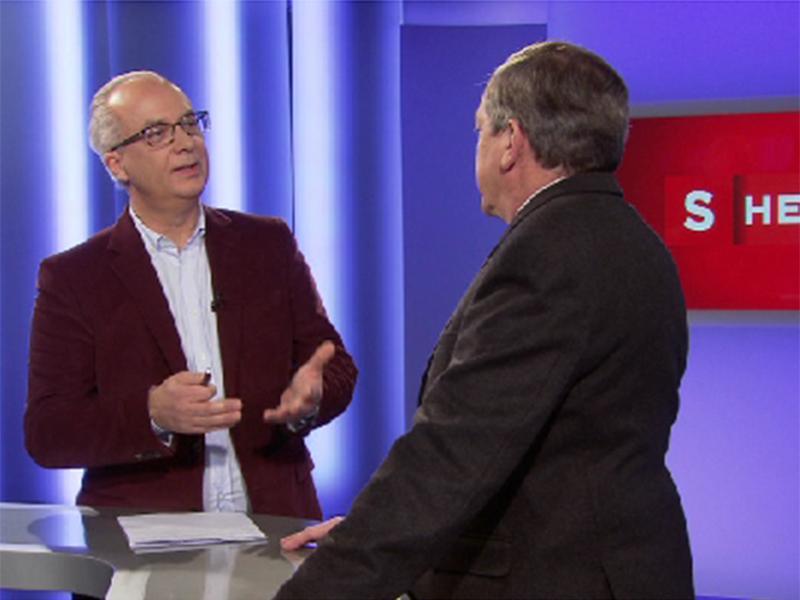Karl Kern im Gespräch mit Heinz Schaden