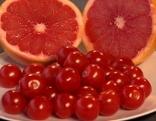 Tomaten und Blutorangen