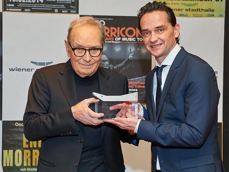 Ennio Morricone und Kurt Gollowitzer