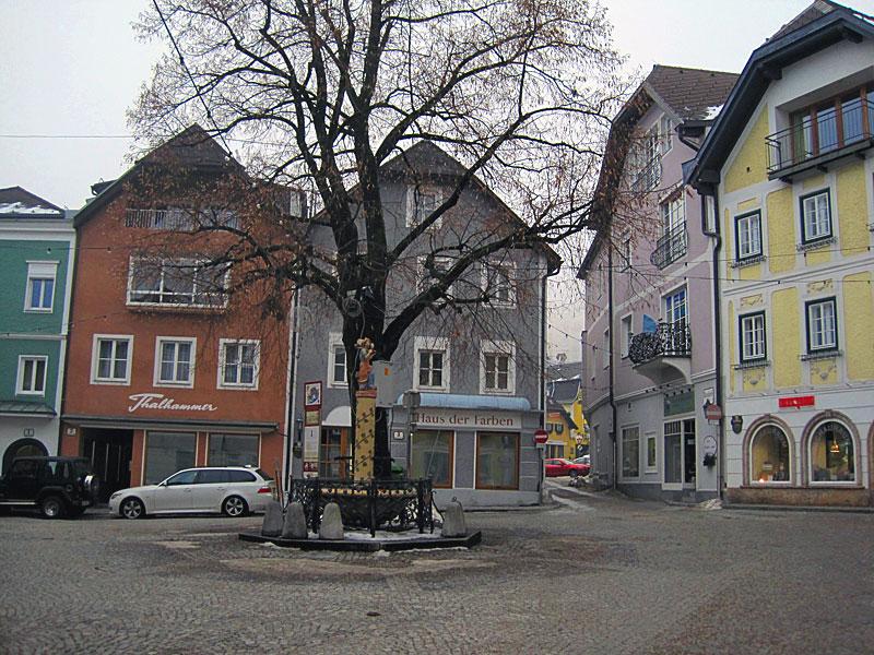 Rinnholzplatz in Gmunden