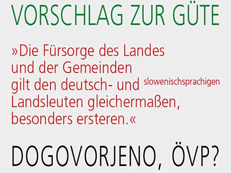 Unikum Verfassung Slowenen Satire