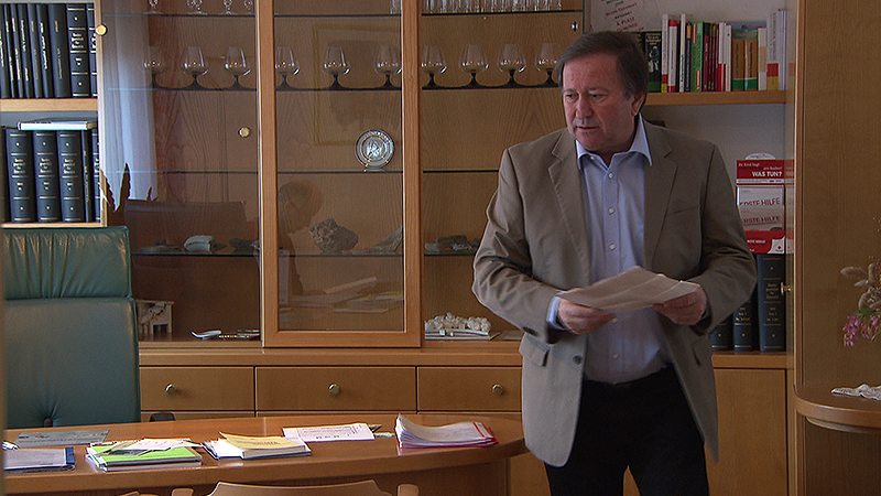 Erich Werderits, Ex-SPÖ-Bürgermeister von Hannersdorf