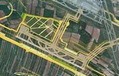Grafik dritte Piste Flughafen Wien Schwechat