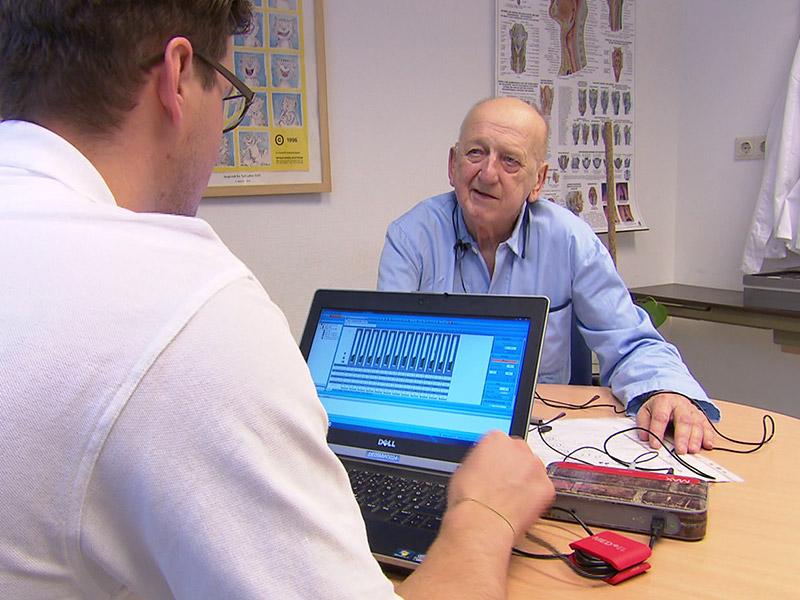 Anton Ulram und Arzt