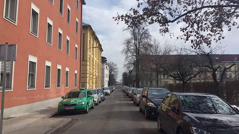 Kurzparken Klagenfurt Kumpfgasse