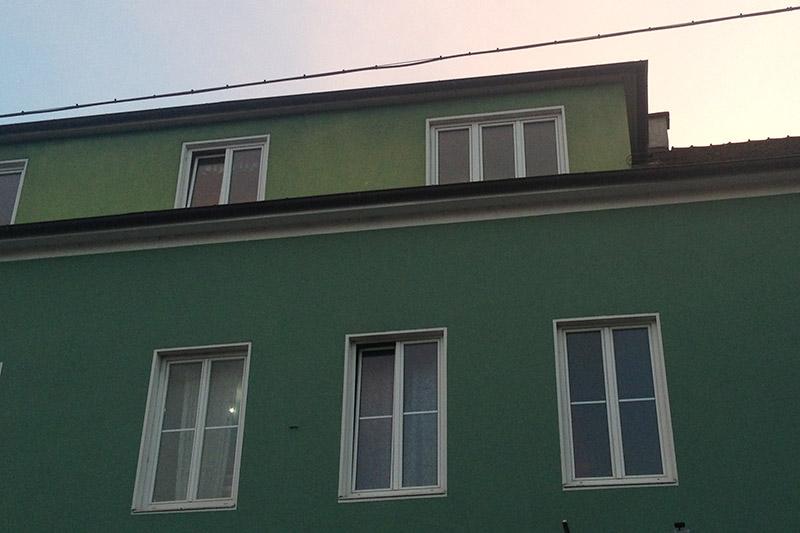 Gestürmtes Haus in St. Pölten