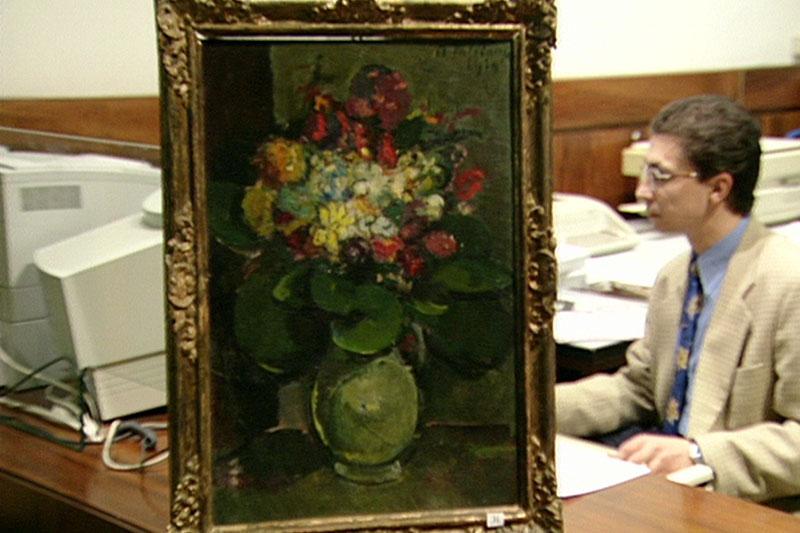 Gemälde von Anton Faistauer, das einst Stefan Zweig gehörte