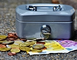 Geld Euro Geldkassette