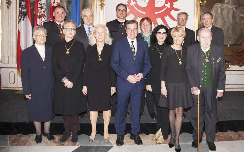 Ehrenzeichenträger 2017