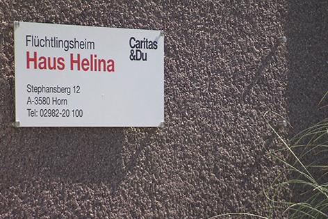 "Schild ""Haus Helina"""