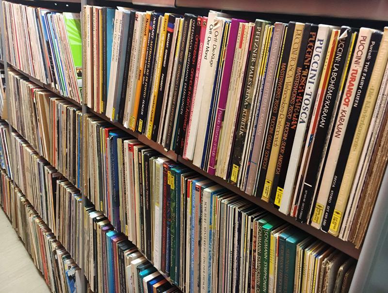 Schallplattenarchiv des ORF OÖ