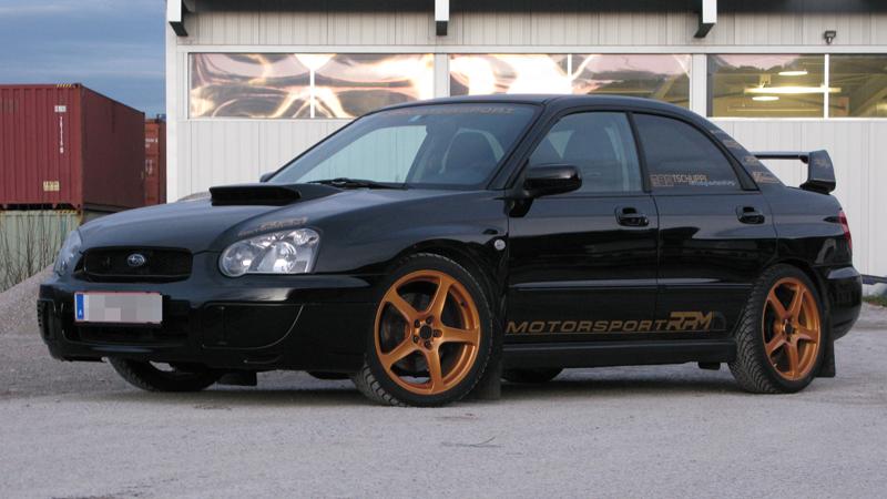 Schwarzer Subaru