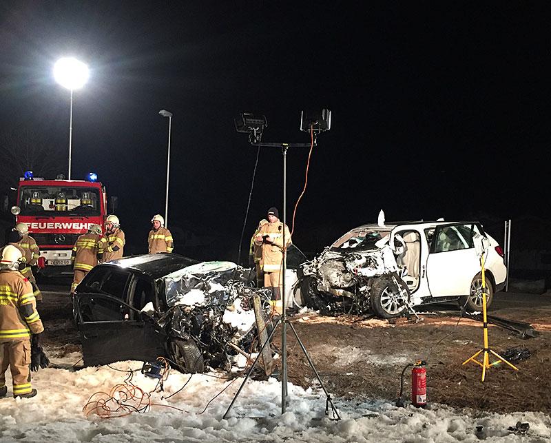 Tödlicher Verkehrsunfall Leogang