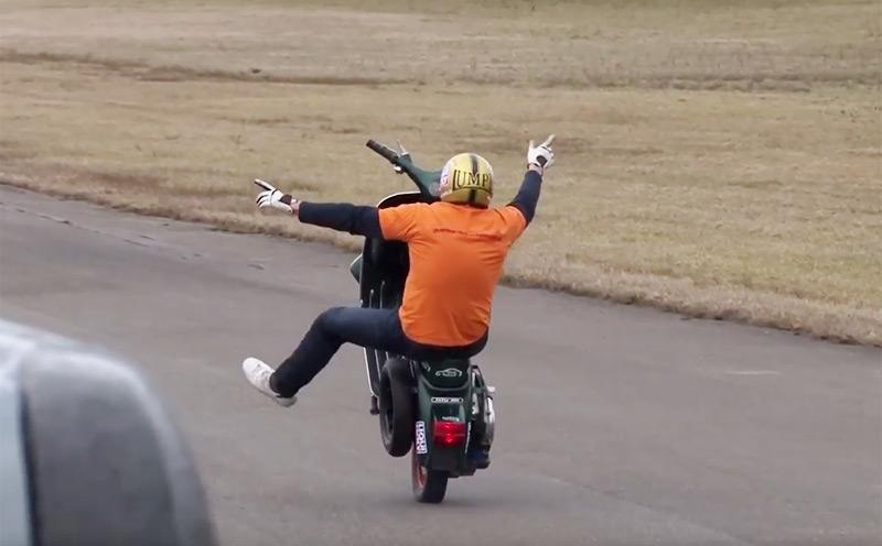 Free Wheely Weltrekordversucht
