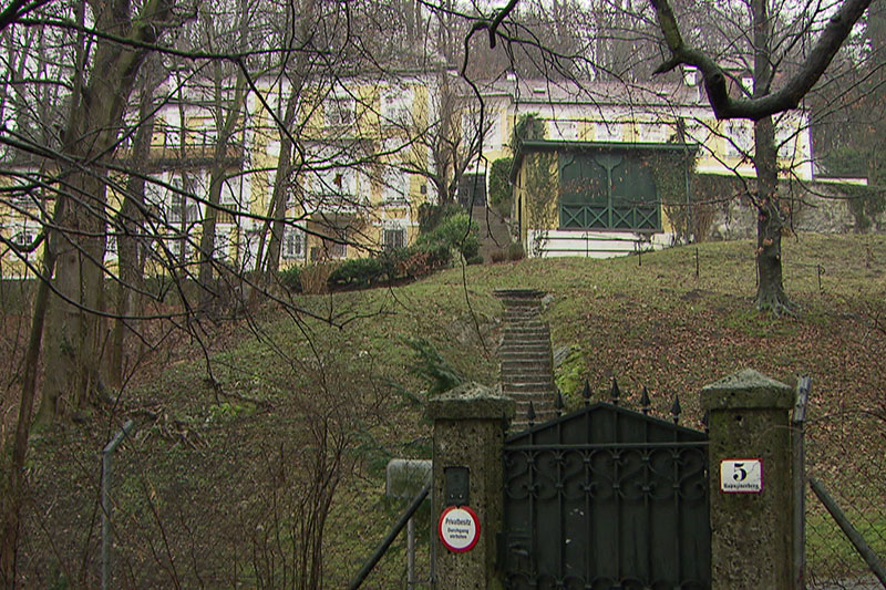 Stefan Zweig Villa auf dem Kapuzinerberg in der Stadt Salzburg