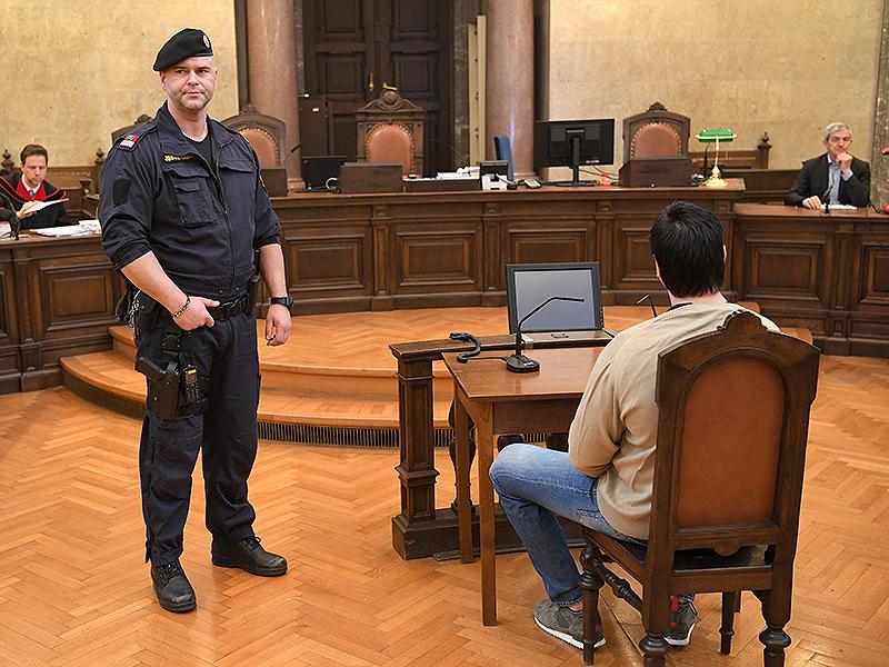 Angeklagter in Prozess um Schüsse in Brigittenau
