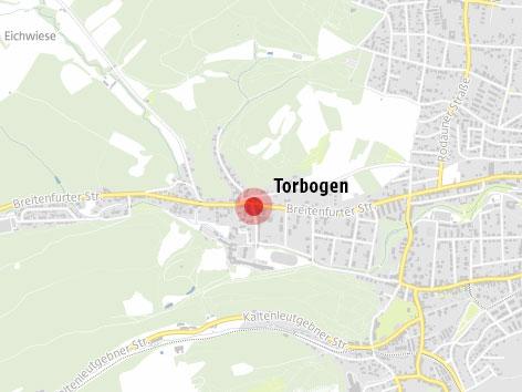 Torbogen Kalksburg Karte