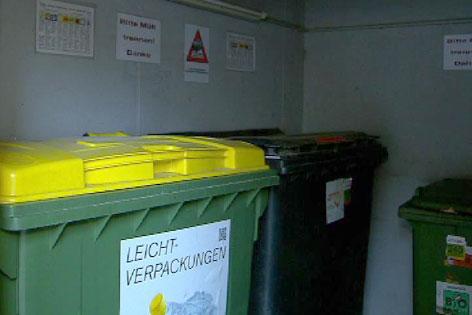 Müll, Müllabfuhr Innsbruck