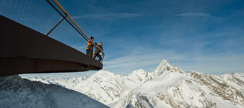 Panoramablick Stubaier Gletscher