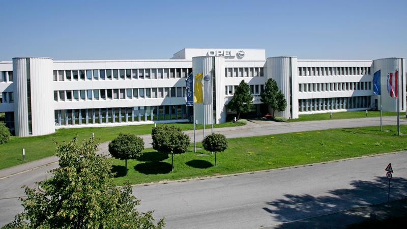 Opel Werk in Aspern