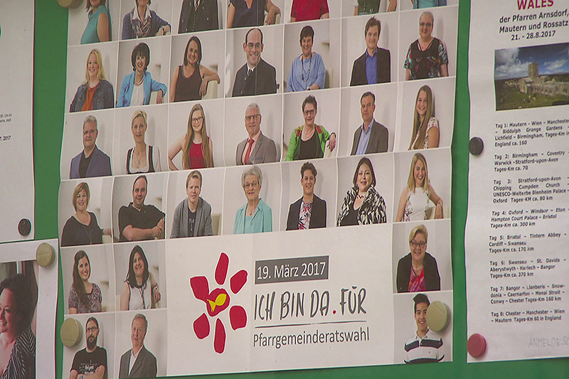 Plakat Pfarrgemeinderatswahl 2017