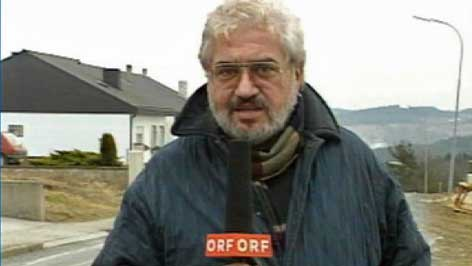 Ewald Pichler kot novinar ORF-a