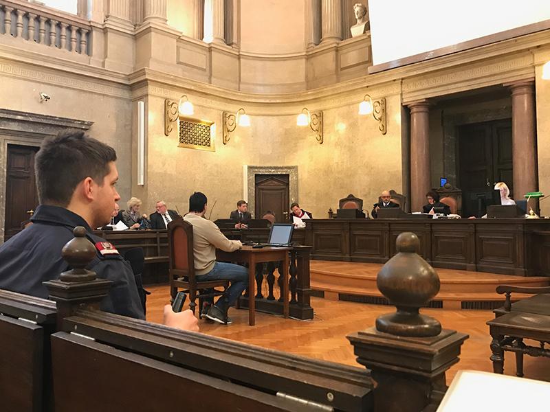 Angeklagter in Prozess um Schussattentat in Brigittenau