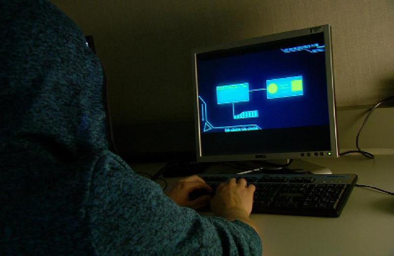 Cyberkriminalität Spionage Hacker Hacking Kriminalität Nerd