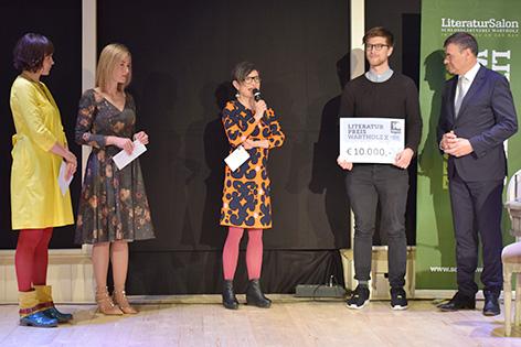 Preisverleihung Wartholz Literaturpreis