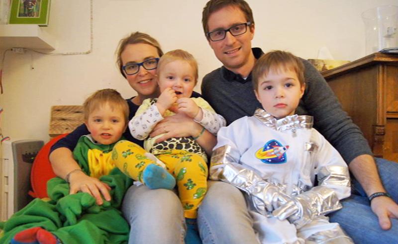 Max mit Familie